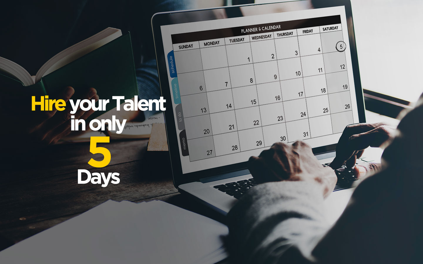 hire freelancers in 5 days